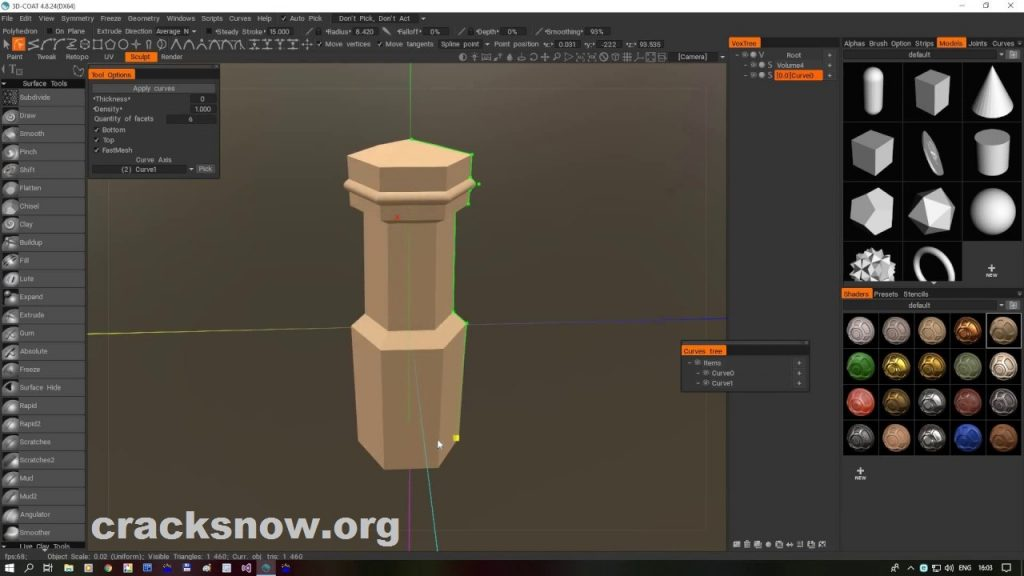 3D-Coat 4.9.40 Crack Patch Full Version Download (New)